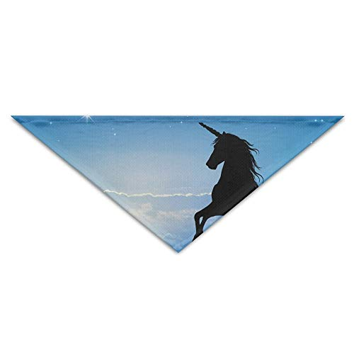 Gxdchfj Black Horse In The Sunset Pet Dog Cat Puppy Bandana Triangle Head Scarfs Accessories (Black Horse Head Kostüm)