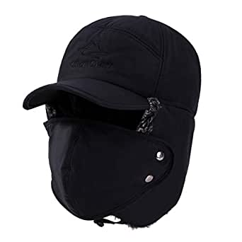 ff1f56556e5 Yooeen Unisex Warm Winter Trapper Trooper Hat Mens Classic Winter ...
