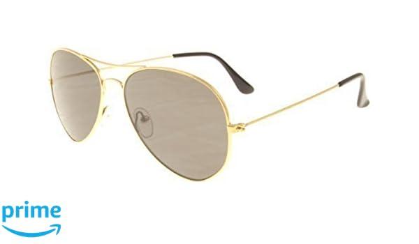 Klein Polarisiert Erwachsene Mini Aviator Sonnenbrille mit Gold Frames & Schwarz Objektive bieten UV400-Schutz Cat 3Lenses Ox995qD0