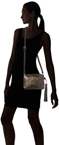 Liebeskind Berlin - Reno Zipper, Borse a tracolla Donna Multicolore (Bronze)