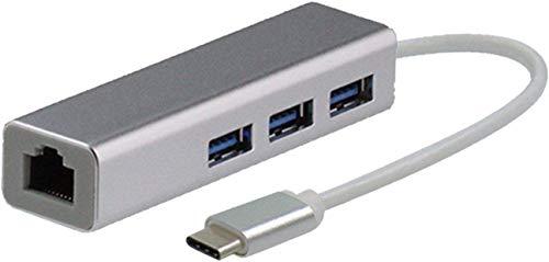 "Broonel Ethernet USB, USB-Netzwerkadapter, LAN-Adapter Mit USB 3.0-Multi-Ports Kompatibel Mit Dem HP EliteBook 1050 15.6"" FHD Laptop | HP EliteBook 1050 G1 15.6"" 4K UHD Laptop"