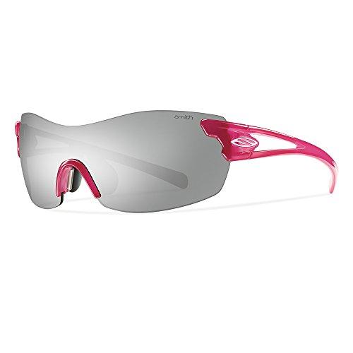 Smith Erwachsene Sportbrille Pivlock Asana Sonnenbrille, Pink (Fuchsia/Iu+Zb), 99