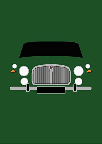 Rover P5-Retro Motor Company Grußkarte