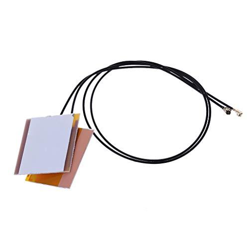 chuxioner 1 Paar Laptop-interne drahtlose WiFi-Antenne für Intel 6230 3160AC 7260HMW Mini PCI-E U.FL Bluetooth-Netzwerkadapter-Antenne -