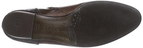 Gabor Gabor Basic 35.600, Bottes femme Marron - Braun (castagno/teak(Eff) 88)