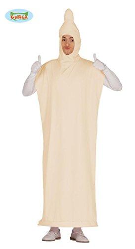 Ideen Für Kostüme Erwachsene Lustige Halloween (Kondom Kostüm für Erwachsene Präservativ Bräutigam Junggesellenabschied M/L,)
