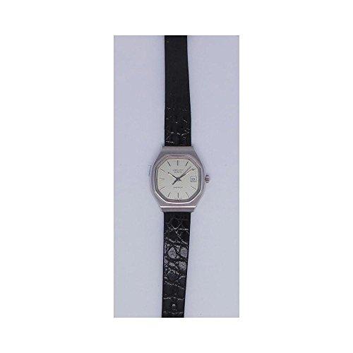 Uhr Zenith Espada 4011864106Quarz (Batterie) Stahl Quandrante Silber Armband Leder