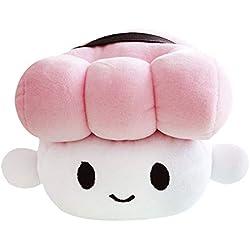 Comida japonesa Sushi Almohada Cojín Cute Plush Toy Decoración Almohada Sushi Almohada Muñeca Niños Regalo de los niños (Pink)