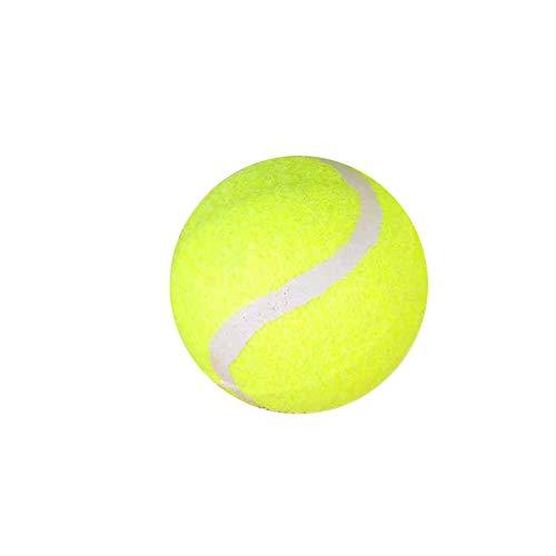 KDSANSO Gummibälle,Hunds-Bouncy-Ball beißen beständiger und unzerstörbarer Hundetrainings-Ball, Haustier Gummi Bouncy Ball,Grüner Durchmesser 6.5