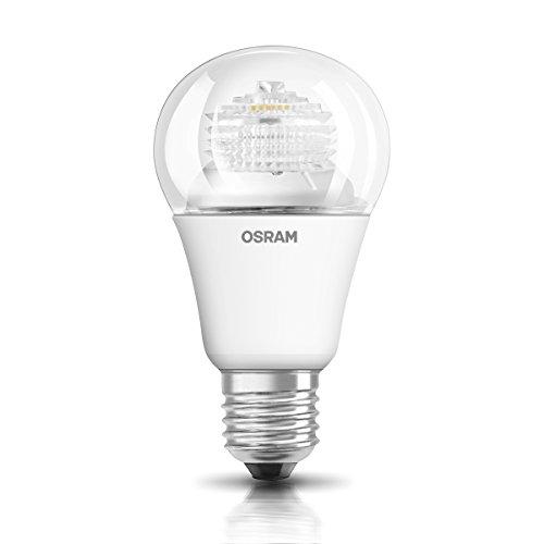 OSRAM LED Star Classic A / LED-Lampe in Kolbenform mit E27-Sockel / Nicht Dimmbar / Ersetzt 60 Watt / Klar / Warmweiß - 2700 Kelvin / 1er-Pack