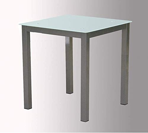 Sdpe - Mesa refez, medidas 70 x 70 x 75 cm, color blanco