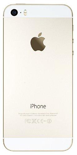 Apple iPhone 5S - Smartphone libre iOS  pantalla 4   c  mara 8 Mp  64 GB  Dual-Core 1 3 GHz  1 GB RAM   dorado