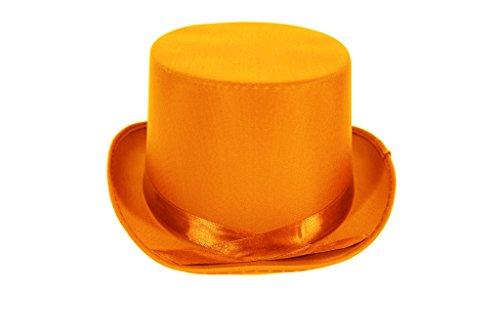 üm TOP Hut (Orange) (Mob Boss-halloween-kostüm)