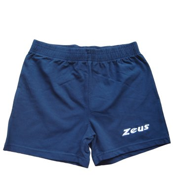 Zeus Damen Volleyball Hosen Shorts Indoor Handball Fitness Training Ausbildung PANT RAFFY BLAU (XS)