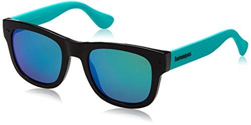 Havaianas Unisex-Erwachsene PARATY/M Z9 QPX Sonnenbrille, Schwarz (Black Turquo/Grey), 50