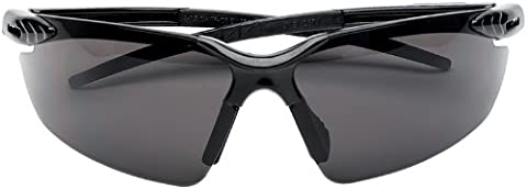 Draper 03110 Anti-Mist Smoked Safety Spectacles with UV Protection and Flexible Frame to EN166 1 F Category
