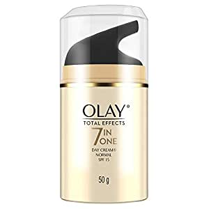 Olay Day Cream Total Effects 7 in 1, Anti-Ageing SPF 15, 50g