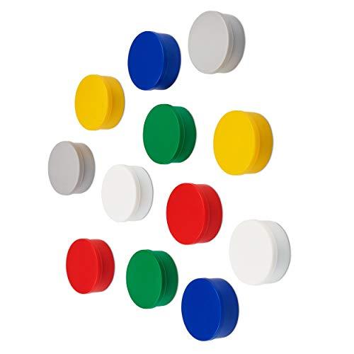 Magneten Magnete Rund 32mm Farbig Sortiert Haft Pinwand Büro Kühlschrank Magnete Einfach Zu Reparieren Beliebte Marke 10 St Präsentations-zubehör
