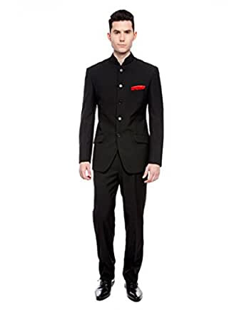 Black Bandhgala suits