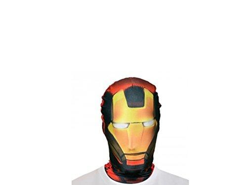 Générique Generico–ma1433–Passamontagna Morphsuit–Iron Man taglia unica