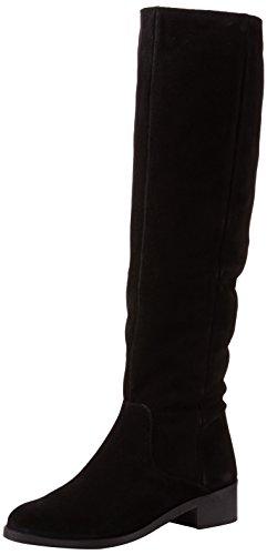 Unbekannt Office Damen Kove W Stiefel, Schwarz (Schwarzes Wildleder), 39 EU - Black Suede Slouch Boots