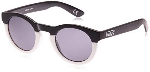 Vans lolligagger sunglasses occhiali da sole, multicolore (solid black-white), 1