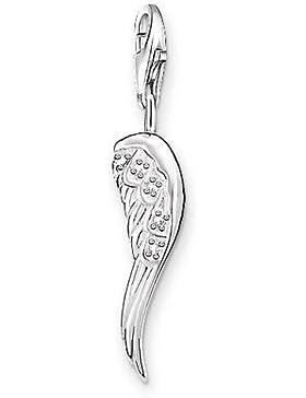 Thomas Sabo Damen-Charm-Anhänger Engel Flügel Charm Club 925 Sterling Silber weiß 0413-051-14