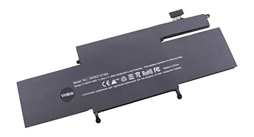 vhbw Batterie 6330mAh (11.34V) pour Ordinateur Notebook Apple MacBook Pro Core i5 2.4 13\