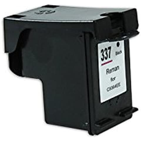 Compatible para HP OfficeJet K 7100 Cartucho de Tinta C9364EE Nr 337 NegroXL 15 ml