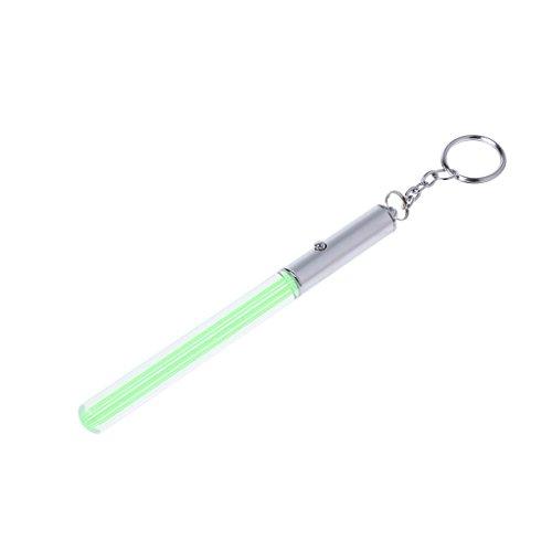 Longsw Leuchtstab Durable Glow Pen Flash Taschenlampe Magic Wand Stick Lichtschwert LED Light Keychain Neu (Glow Lichtschwert Stick)