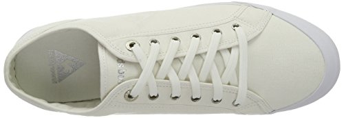 Le Coq Sportif Deauville Plus, Unisex-Erwachsene Hohe Sneakers Weiß (Optical WhiteOptical White)