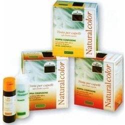 teinture pour les cheveux coloration permanent Vegetale sans ammoniaque Homocrin Naturalcolor N. 7/3 couleur blond d'or