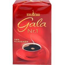 Eduscho Gala Nr. 1 Der Klassiker, 500g gemahlen 6er Pack