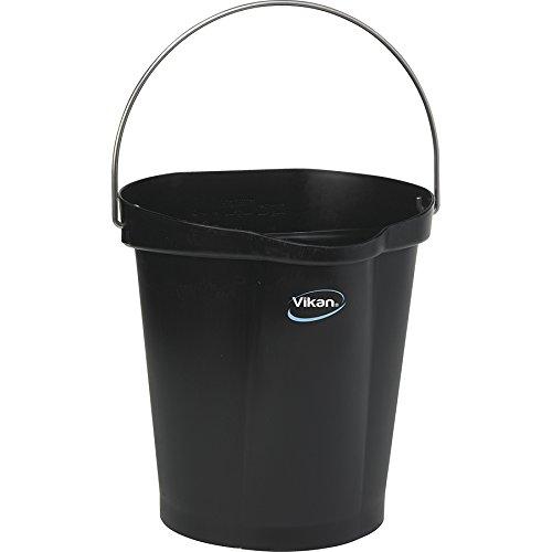 Vikan Eimer, 12 Liter, black