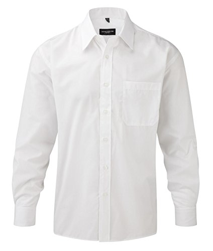 russell-collection-men-s-easy-care-poplin-long-sleeve-camiseta-blanco-xxxx-large