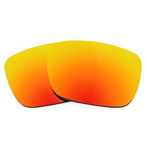 Revant Ersatzlinsen für Spy Optic Helm Polarisierung Elite Feuerrot MirrorShield® (Rot Spy Sonnenbrille)