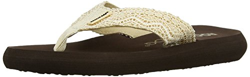 Rocket Dog Spotlight Beige Brown Womens Summer Beach Flip Flops-4