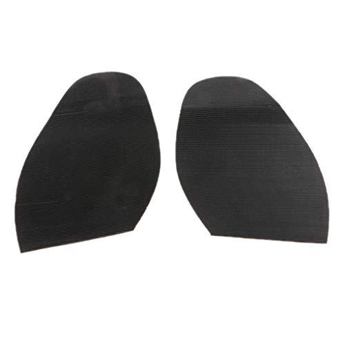 Fenteer Premium Halbsohle Gummi halbe Sohle für Schuhpflege Schuhreparatur