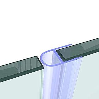 VON ADELBERG Duschtür und Duschkabinen Dichtung für 8 MM GLASDICKE Dichtung Duschdichtung Ersatzdichtung Wasserabweiser, Dichtung Länge:2000 mm, Duschlippe Typ:VA007
