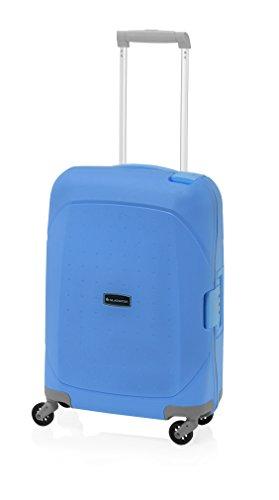 Gladiator ® Maleta de cabina Azul Cielo polipropileno con cierre de Aluminio + TSA