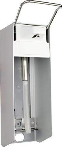 1000 ml Wandspender Aluminium gebürstet kurzer Armhebel Medi-Inn
