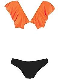 3d0d303d6667 Amazon.es: volantes - Bikinis / Ropa de baño: Ropa
