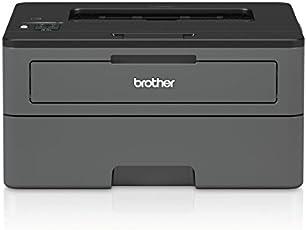 Brother HLL2375DW Stampante Laser Monocromatica a 34 ppm con Duplex in Stampa, Rete Cablata, Wi-Fi e Display LCD, Inbox Toner da 1200 Pagine