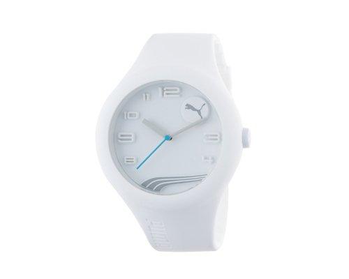 Puma para hombre PU103211005forma XL color blanco reloj