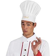 Amazon.it  costume di carnevale da cuoco o ilferocissimocarlino 3e5454d32bb5