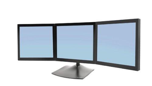 Ergotron DS100 Standfuß für 3x 53,3 cm (21 Zoll) Monitor