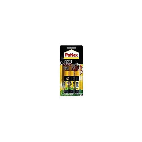 Pattex Junior Super stick Tube de colle Transparent - Super stick 11g - lot de 3