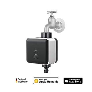 Eve Aqua - Smarte Bewässerungssteuerung, Bewässerungstimer, Fernzugriff, Kindersicherung, keine Bridge erforderlich (Apple HomeKit)
