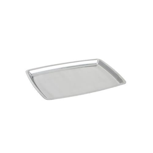 Winco SIZ-11B Stainless Steel Rectangular Sizzling Platter, 11-Inch by Winco Winco Stainless Steel Platter