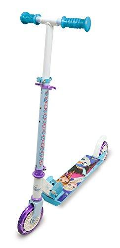 Smoby 750343 Die Eiskönigin Frozen Roller mit Bremse, Klappbar